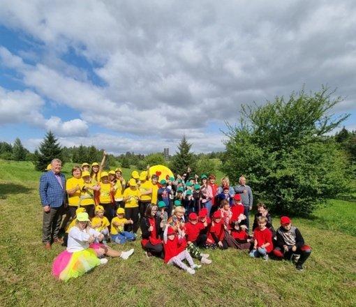 Radviliškio rajono dienos centrus lankantys vaikai atsisveikino su vasara
