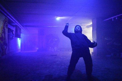 Kultūros centro rūsyje – naktinis performansas