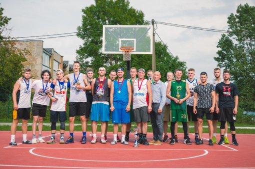 Pakuonyje – pirmasis gatvės krepšinio turnyras