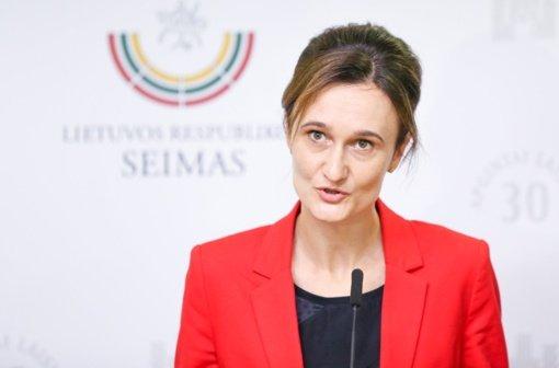 Pirmadienį į susitikimą su V. Čmilyte-Nielsen ateis A. Orlauskas, R. Grinevičius ir A. Rusteika