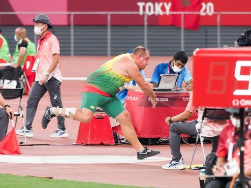 Tokijo žaidynėse – Donato Dundzio asmeninis rekordas ir šešta vieta