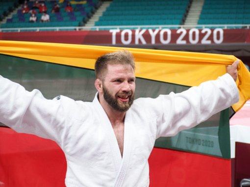 Antrasis medalis Tokijuje: dziudo imtynininkas O. Bareikis iškovojo bronzą!