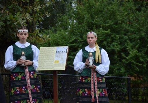 Vilkaviškio rajone paminėtos 80-osios Holokausto pradžios Lietuvoje metinės