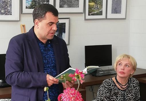 """Juozo Žitkausko knyga """"Dubeltavos išpažintys"""" pristatyta aukštadvariečiams"""