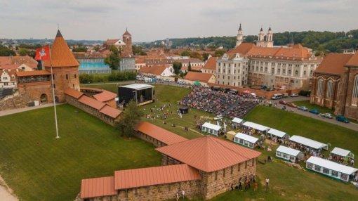 Kauno pilies prieigose – Mokslo metų pradžios šventės tęsinys
