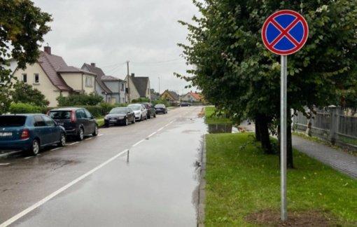 Prie Tauragės Martyno Mažvydo progimnazijos – eismo ženklinimo pakeitimai