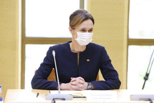 Seimo pirmininkė: dabartinė Vyriausybė yra geriausia, kas galėjo nutikti Lietuvai sudėtingu laikotarpiu