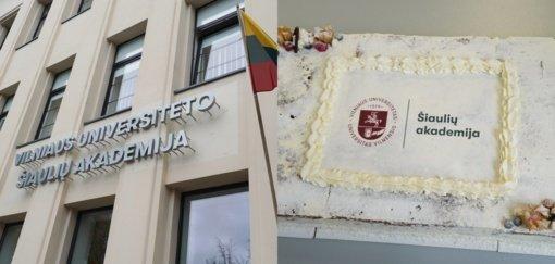 VU Šiaulių akademijai ypatinga šventė: mini pirmųjų mokslo metų pradžią
