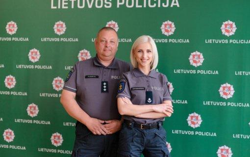 """Kauno policijos bendruomenės pareigūnė: """"Kalbėtis su vaikais bei rodyti pavyzdį kelyje yra kertiniai dalykai saugių kelionių link"""""""