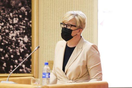 Premjerė I. Šimonytė pasirašė kreipimąsi dėl mergaičių ir moterų teisių Afganistane
