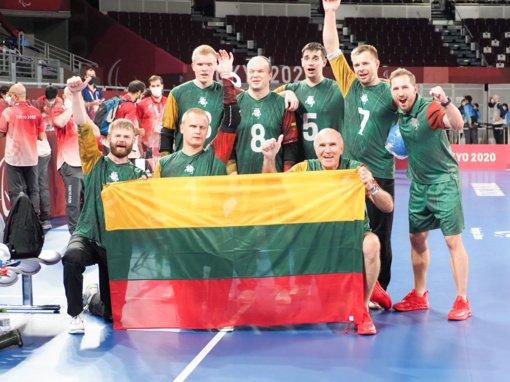 Lietuvos golbolo rinktinė pirmą kartą iškovojo paralimpinių žaidynių bronzą