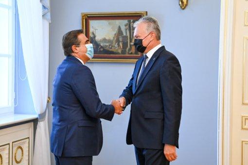 G. Nausėda: Lietuva pasiruošusi aktyviai dalyvauti tobulinant ES migracijos, prieglobsčio ir išorinės sienos apsaugos politiką