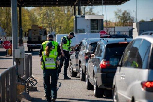 Policija praneša, kokius reidus vykdys rugsėjo mėnesį