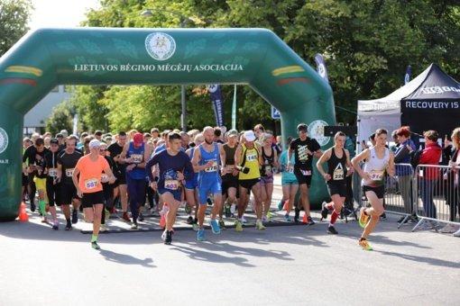 Pirmajame Zarasų pusmaratonyje – Kauno bėgimo mėgėjų pergalė