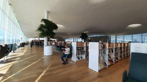 Utenos regiono bibliotekininkų pažintis su viena geriausių pasaulio bibliotekų
