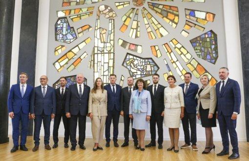 Naujoji S. Skvernelio frakcija laikysis centro kairės politinės krypties: matome, kad Lietuva yra skirtinga