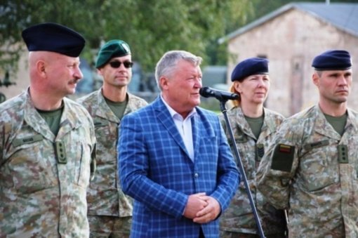 Oro gynybos batalionas minėjo 21-ąsias įkūrimo metines