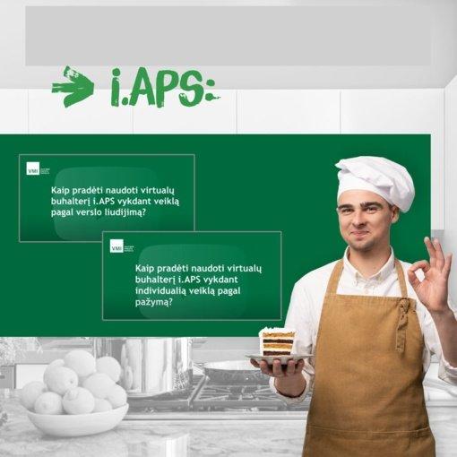 VMI informuoja apie virtualaus buhalterio i. APS naujoves savarankiškai dirbantiems