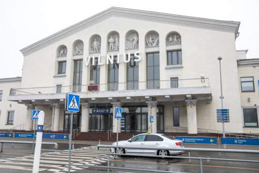 Vilniaus oro uoste sulaikyti du teisėsaugos ieškoti vyrai