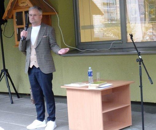 Pasitinkant Šiaulių miesto gimtadienį – susitikimas su kraštiečiu, žurnalistu Edvardu Žičkumi