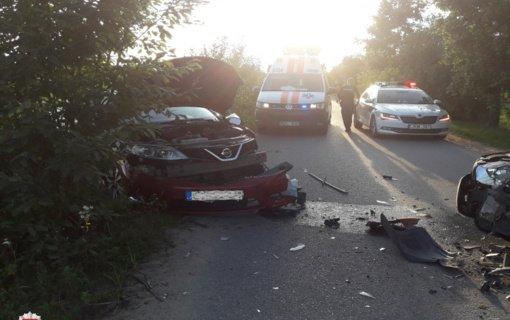 Trakų rajone avariją sukėlė neblaivus vairuotojas
