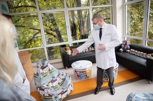 Kauno klinikų Vaikų chirurgijos klinikoje vaikams sukurta nauja žaidimų erdvė