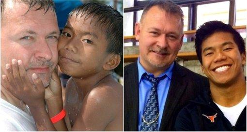 Neįtikėtina istorija: sergantį berniuką įsivaikinęs gėjus užaugino olimpinį čempioną