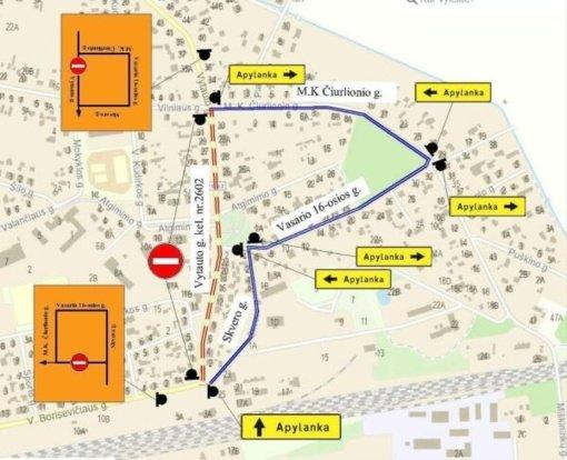 Kazlų Rūdos šventės metu bus ribojamas eismas Kazlų Rūdos mieste