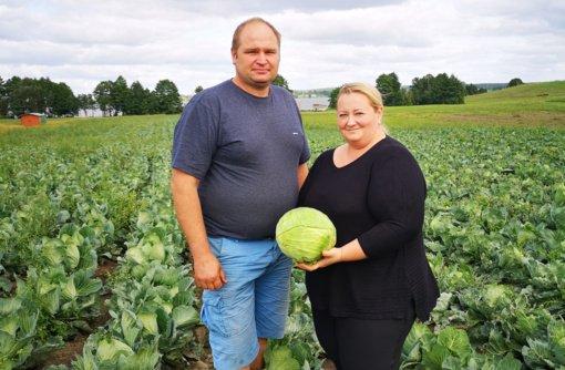 Ūkininkai Robertas ir Inga Ramaneckai: derlių nulemia gamta