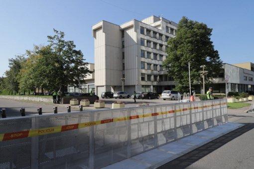 Seimo opozicija įvertino mitingo metu sustiprintą Seimo saugumą