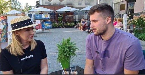 """Krepšininkas E. Stankevičius: """"Šiauliai-7bet"""" komanda pasiruošusi kovai aikštelėje"""