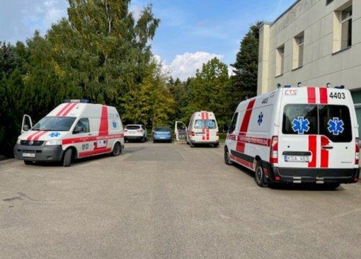 Atidarytas COVID skyrius Plungės ligoninėje