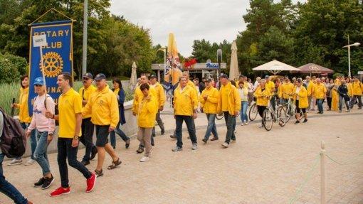 Palangoje – jubiliejinės Rotary sporto žaidynės