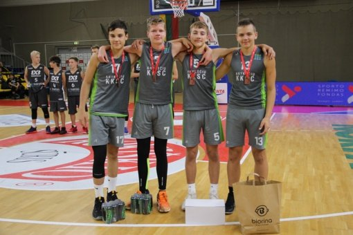 Anykštėnai Utenoje iškovojo bronzos medalius