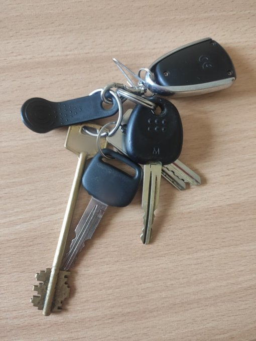 Alytaus policija ieško raktų savininko