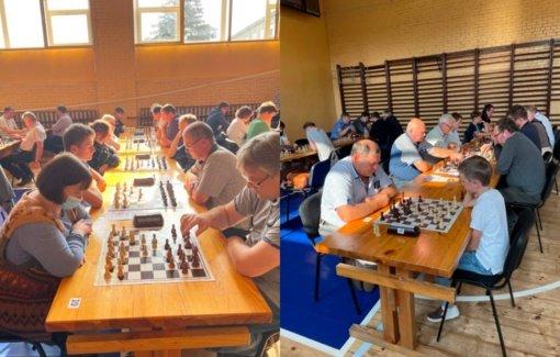 Pajūrio miestelyje vyko devintasis greitųjų šachmatų turnyras