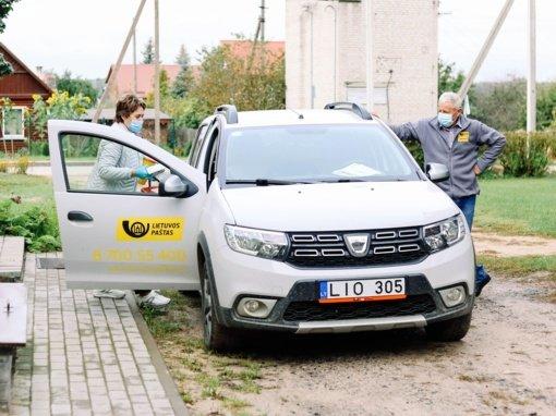 Trakų rajone su mobiliuoju laiškininkų šią savaitę lankysis slaugytoja, siūlys skiepytis