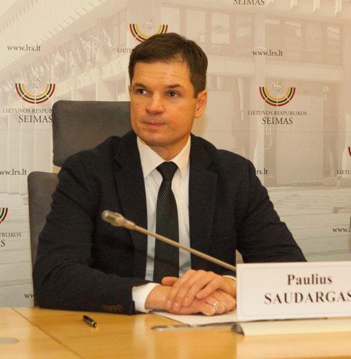 P. Saudargas: po LVŽS frakcijos skilimo darbas parlamente tapo aiškesnis