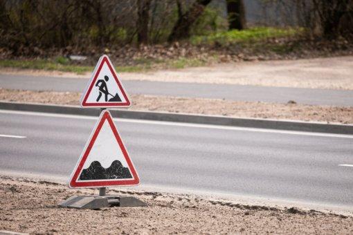 Vilniuje dėl asfaltavimo darbų bus draudžiamas eismas Vytenio ir Naugarduko gatvėse