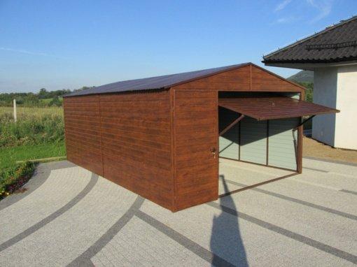 TOP5 – kodėl pasirinkti skardinį garažą?