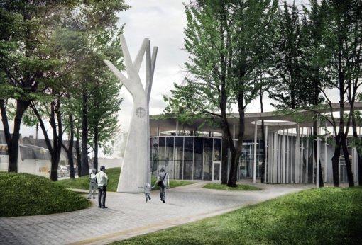 Prie Vilkaviškio autobusų stoties prasidės simbolinio laikrodžio statybos