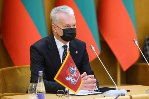 G. Nausėda Berlyne susitiko su Baltijos šalių ir Vokietijos prezidentais