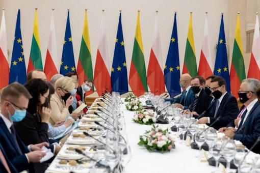 Premjerė: esame pasiryžę ir toliau stiprinti dinamišką Lietuvos ir Lenkijos strateginę partnerystę