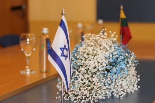 Kėdainiuose lankėsi Izraelio ambasadorius