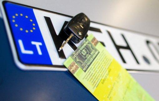 Šiauliuose norėta įregistruoti Švedijoje ieškomą automobilį