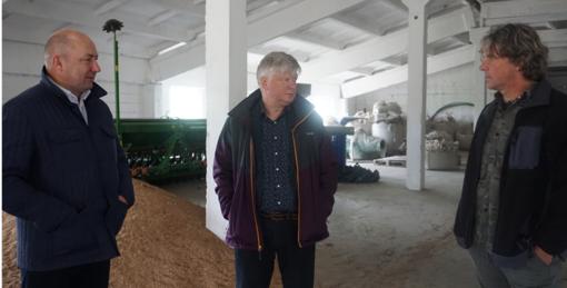 Molėtuose lankėsi Žemės ūko ministras Kęstutis Navickas