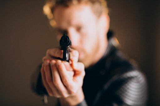 Druskininkuose vyras klube švaistėsi ginklu