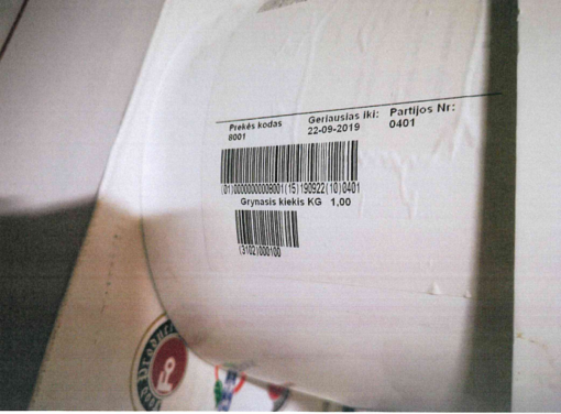 Marijampolės maistines žaliavas tiekiančioje įmonėje – per 7,5 tonas pasenusių produktų