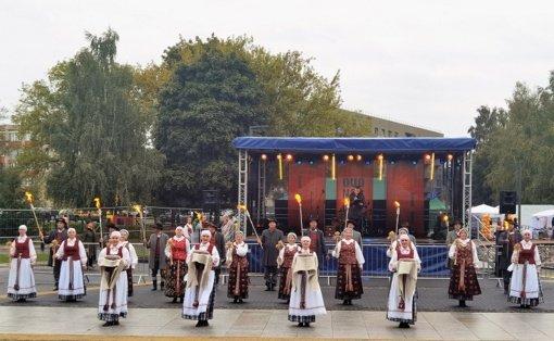 Prienuose surengtas pirmasis Duonos ir ugnies festivalis