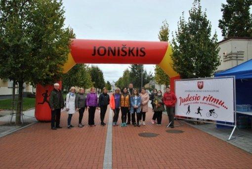 Joniškyje vyko Europos judumo savaitės renginiai